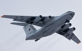 Picture flight, the plane, tanker, The Il-78M