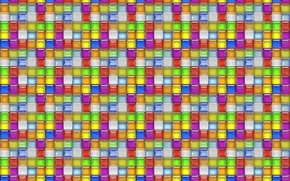Picture glass, mosaic, background, tile, Shine, grille, texture, colored squares