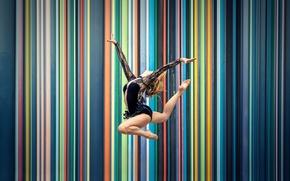 Wallpaper Marjorie, jump, gymnast