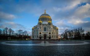 Picture Saint Petersburg, Kronstadt, Naval Cathedral