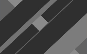 Picture line, grey, black, geometry, design, color, material