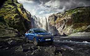 Picture Toyota, pickup, Hilux, Toyota, Hilux, 2015