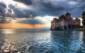 Wallpaper Bay, The sky, Castle