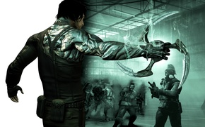 Picture wallpaper, video game, image, dark sector