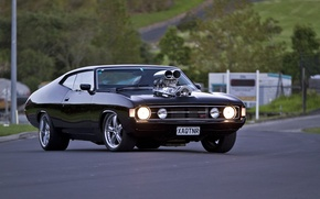 Picture Ford, muscle, Falcon, 1973, XA Hardtop