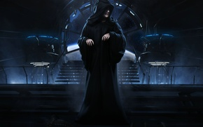 Picture Star Wars, Cloak, SW The Force Unleashed, The Lord, Sith
