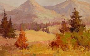 Picture art, Sean Wallis, Glorious Peak