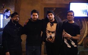 Picture MadFamily, Okaber, Qaraqan, AliKhayyam, MadhouseCommunity