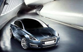 Picture machine, wheel, Peugeot 508