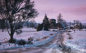 Picture landscape, city, games, gta 5, gta v, grand theft auto v
