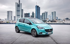 Wallpaper Corsa, 5-door, Color Edition, Corsa, Opel, 2014, Opel