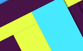 Picture line, yellow, blue, geometry, purple, design, color, material