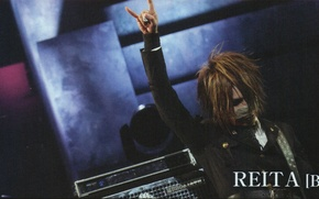 Picture bass, Japan, rock, man, j-rock, Reita, the GazettE