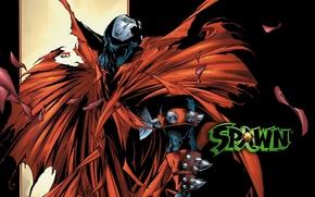 Picture the demon, spawn, cloak, spawn