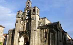 Picture France, Church, temple, stone Church