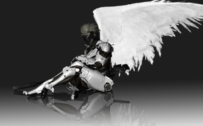 Picture wings, cyborg, jack, Raiden, Metal Gear Rising: Revengeance, Jack the Ripper, Kojima Productions, mgr, Mr. …