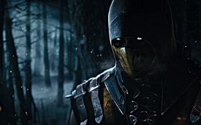 Picture Scorpion, Mortal Kombat X, Ninja Ghost, Mortal Kombat 10
