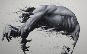 Picture body, painting, Artist Paolo Troilo