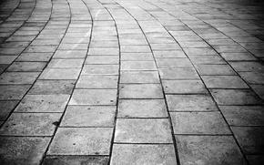 Wallpaper Tile, The cracks, The sidewalk