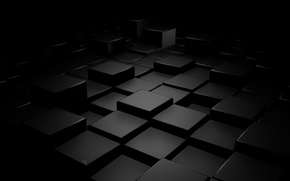 Wallpaper abstraction, rendering, cubes, figure, 1920x1080, abstraction, cubes, figures
