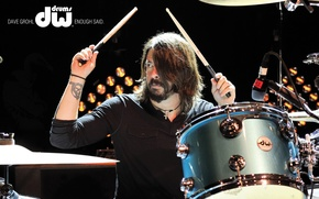 Picture drums, drummer, foo fighters, Dave Grohl, Dave Grohl