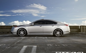 Picture the sky, side, tinted, Wheels, Acura TL, Concave, CW-S5, Concave