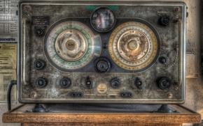 Wallpaper background, receiver, radio