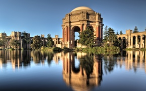 Picture the city, California, San Francisco, Palace Of Fine Arts