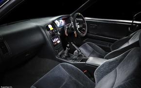 Picture interior, nissan, salon, skyline, Nissan, jdm, r33, smilin, cramps