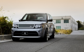 Picture before, Land Rover, Range Rover, metallic