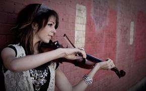 Wallpaper beautiful, Lindsey Stirling, Lindsey Stirling, Violin, violinist