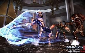 "Picture Mass Effect 3, Reaper, former attack ""Cerberus"", the addition of the ""rebellion"", Rebellion Pack, Vorka, …"