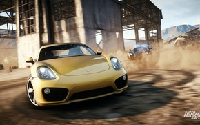 Picture Porsche, Need for Speed, nfs, Marussia, 2013, Rivals, NFSR, NSF, Cayman 2014