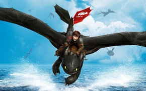 Picture Movie, Film, 2014, How to Train Your Dragon 2