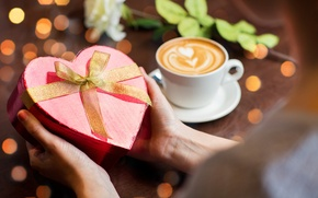 Picture love, heart, coffee, love, cup, romantic, sweet, coffee