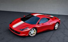 Picture red, Ferrari, 458, 2011, Wheelsandmore, Ferrari, Italia