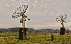 Picture field, background, antenna