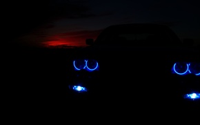 Picture bmw, 3 series, angel eyes
