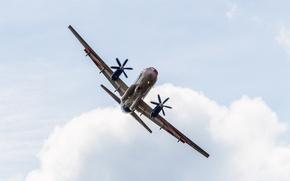 Picture 2015, Passenger, speed, turn, Ilyushin, The rise, height, Flight, The Il-114, Flying, MAKS, Laboratory, MAX, …