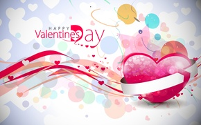 Wallpaper love, heart, Valentine`s day