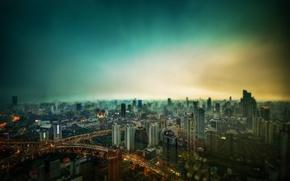 Picture megapolis, Shanghai, shanghai, cityscape, megapolis