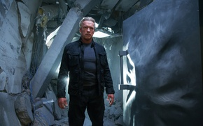 Picture fiction, Arnold Schwarzenegger, Terminator, Arnold Schwarzenegger, Terminator: Genisys, Terminator: Genesis