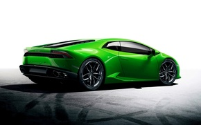 Picture Green, Car, Car, Green, Wallpaper, Lamborghini, Huracan, LP610-4, Lamborghini Huracan, Sport car