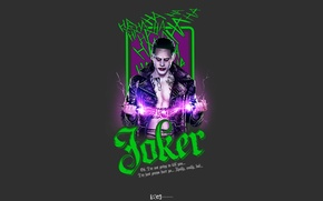 Picture Joker, Jared Leto, Suicide Squad, DCEU