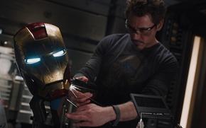 Picture Iron man, The Avengers, Tony Stark, Marvel