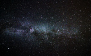 Wallpaper space, stars, the milky way