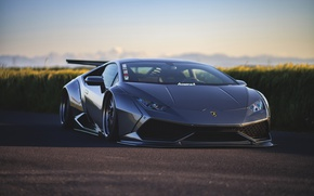 Wallpaper machine, tuning, Lamborghini, Huracan