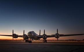 Wallpaper B-29, the airfield, bomber, strategic