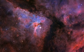 Picture space, space, stars, constellation, The Carina Nebula, the universe, NGC3372