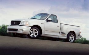 Picture Ford, Lightning, limited, f150, 2004, F-150, SVT, fast, supercharged